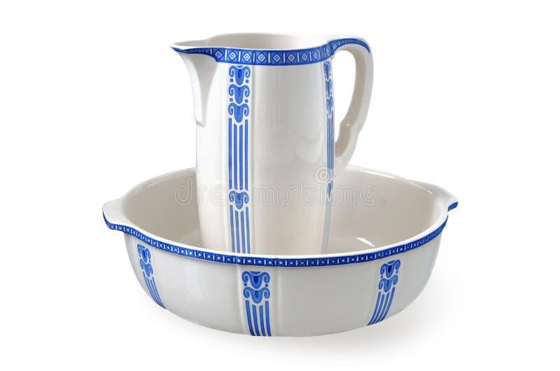 Ceramic ware stock images