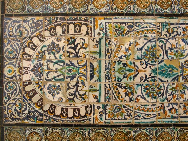 Ceramica araba fotografie stock libere da diritti
