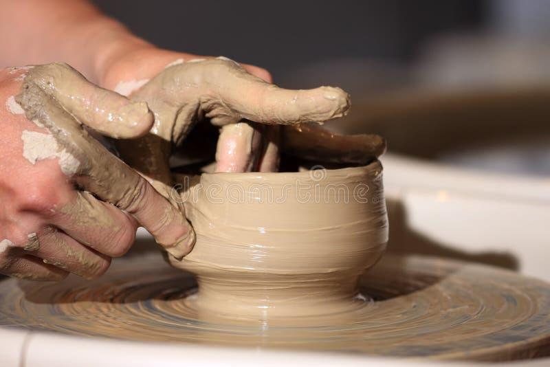 Ceramica fatta a mano fotografia stock libera da diritti