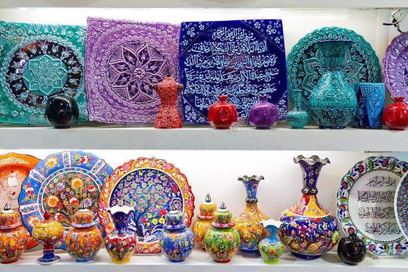 Download Ceramica turca immagine stock. Immagine di impero, colorful - 23449177