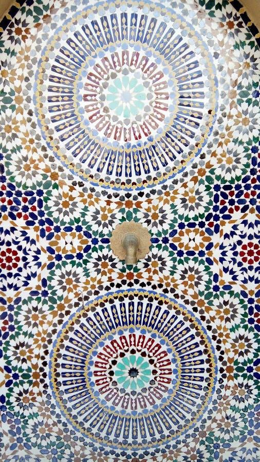 Ceramico fatto a mano multicolore fotografie stock