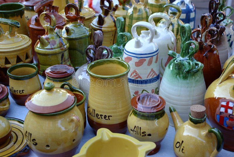 Download Ceramics stock photo. Image of clay, various, crafts, container - 4229216