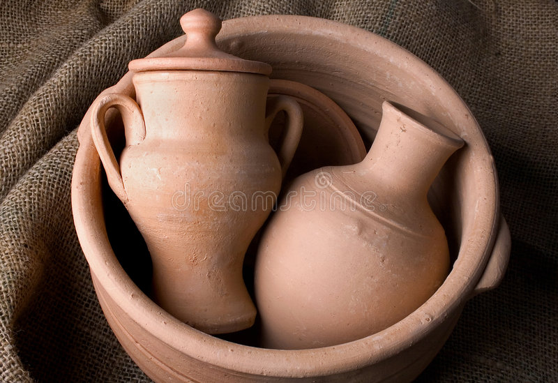 Ceramics royalty free stock photos