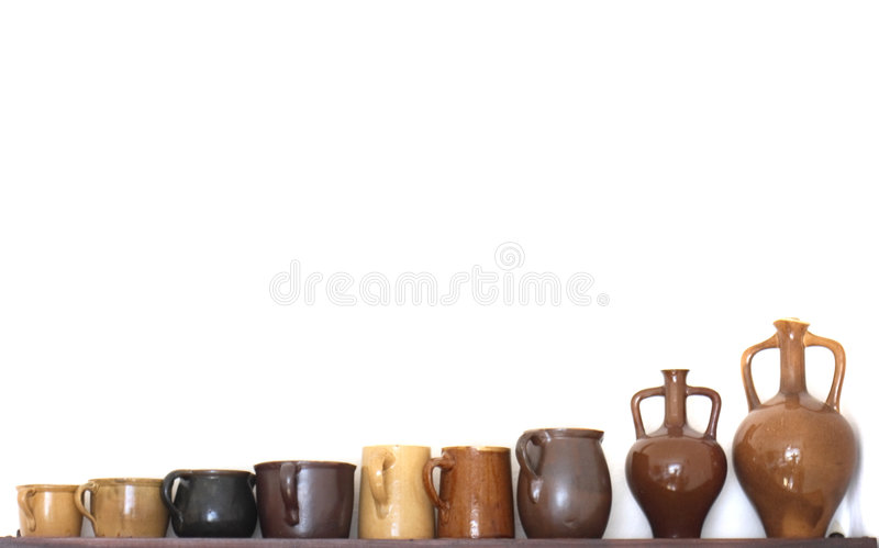 Ceramics background royalty free stock images