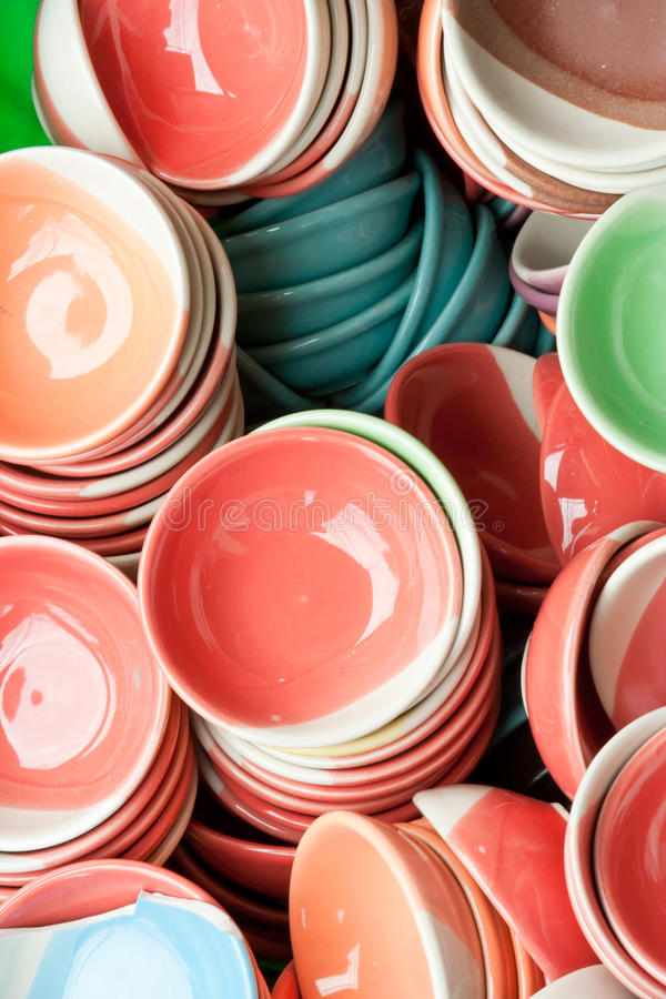 Download Ceramics bowl stock image. Image of clean, colorful, blank - 21059991