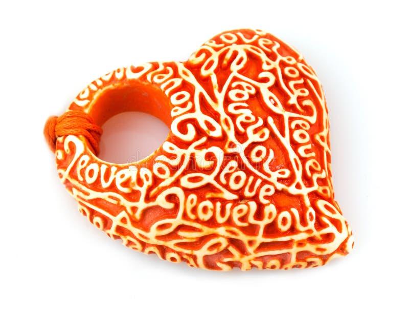 Ceramics Heart Royalty Free Stock Image