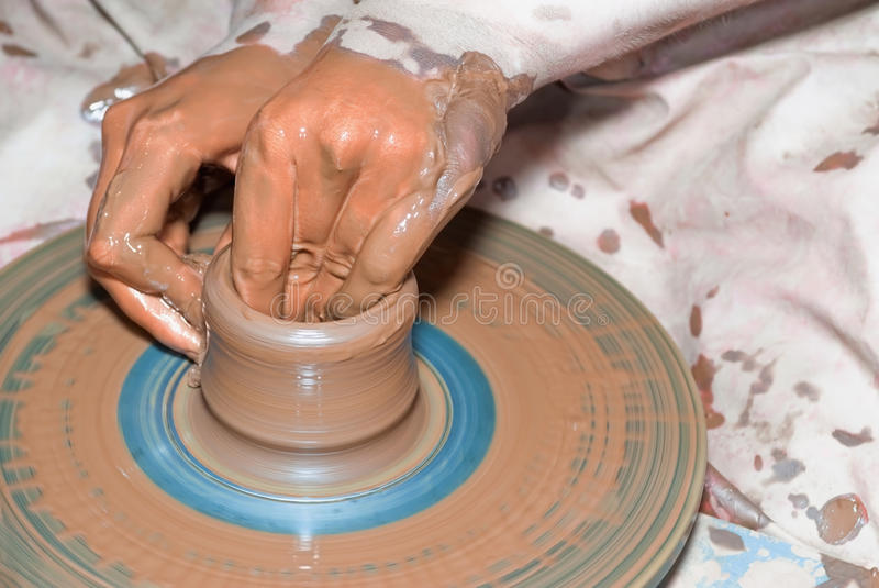 Download Ceramics mud stock image. Image of creativity, molding - 12474039