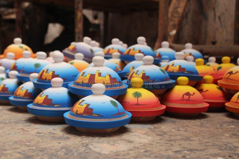 ceramics Produção manual O resultado do trabalho terminado imagens de stock