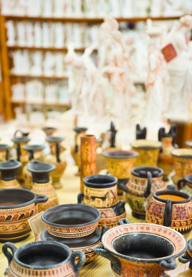 Download Ceramics souvenir shop stock image. Image of pattern - 24017529