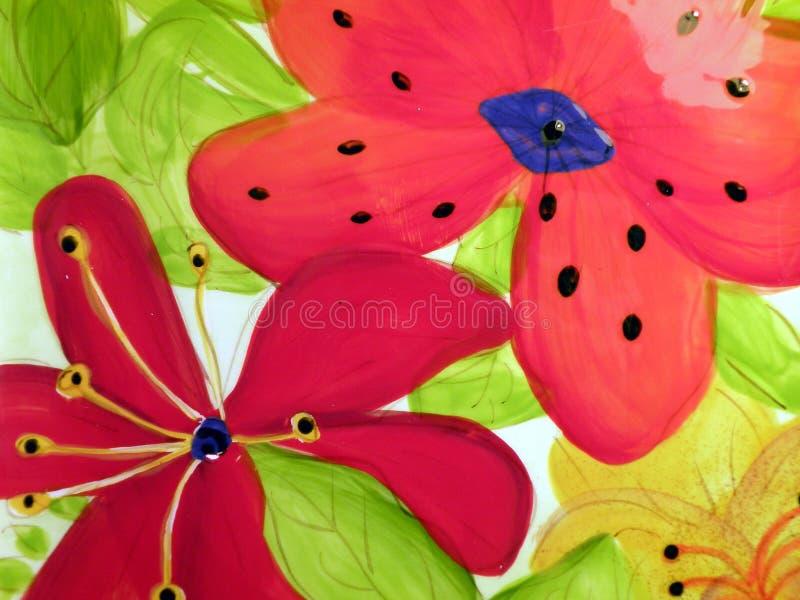 Ceramics surface texture royalty free stock image