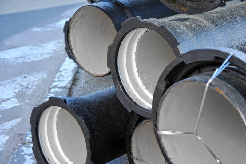 Ceramiczna ściekowa drymba obraz stock