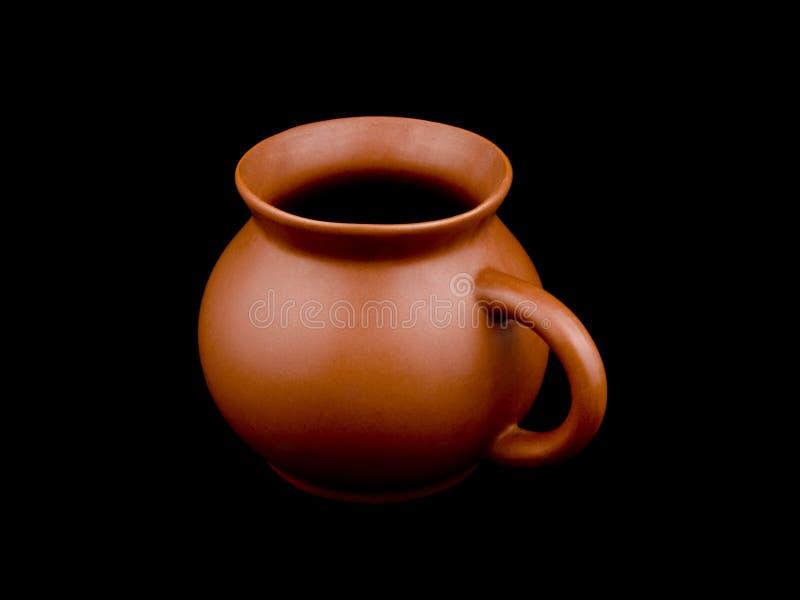 Download Ceramiczna filiżanka obraz stock. Obraz złożonej z glina - 13330159
