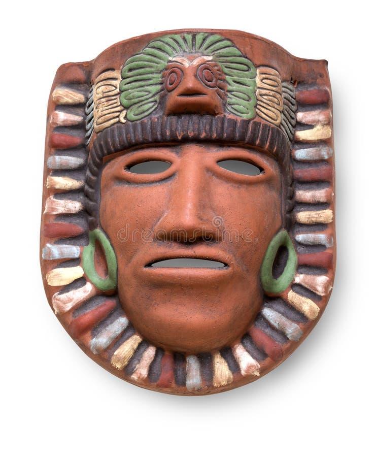 Ceramiczna malująca maska zdjęcia stock