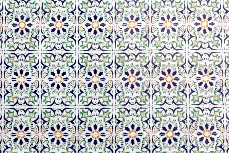 ceramiczne hiszpańskie płytki obraz royalty free