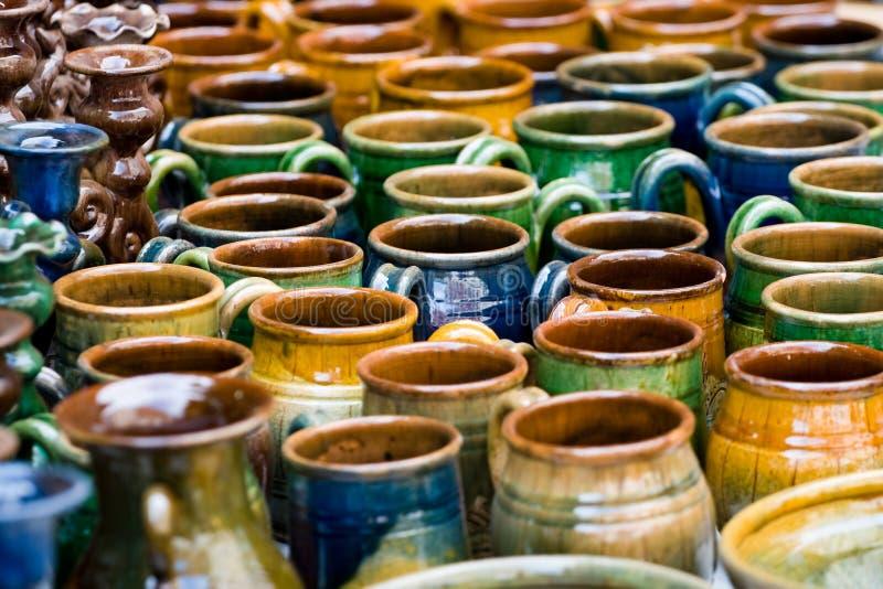 ceramiczni produkty zdjęcia stock