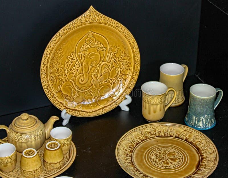 Ceramiczny artykuły Tajlandia obrazy stock