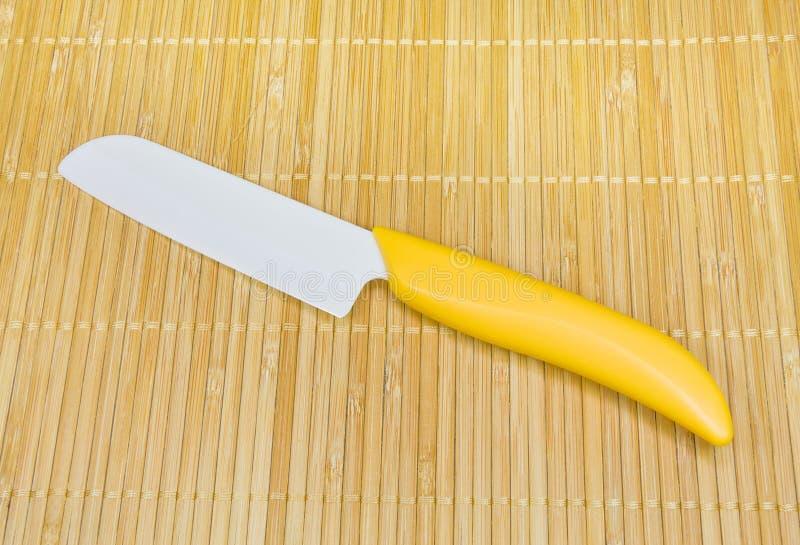 ceramiczny kuchenny nóż fotografia royalty free