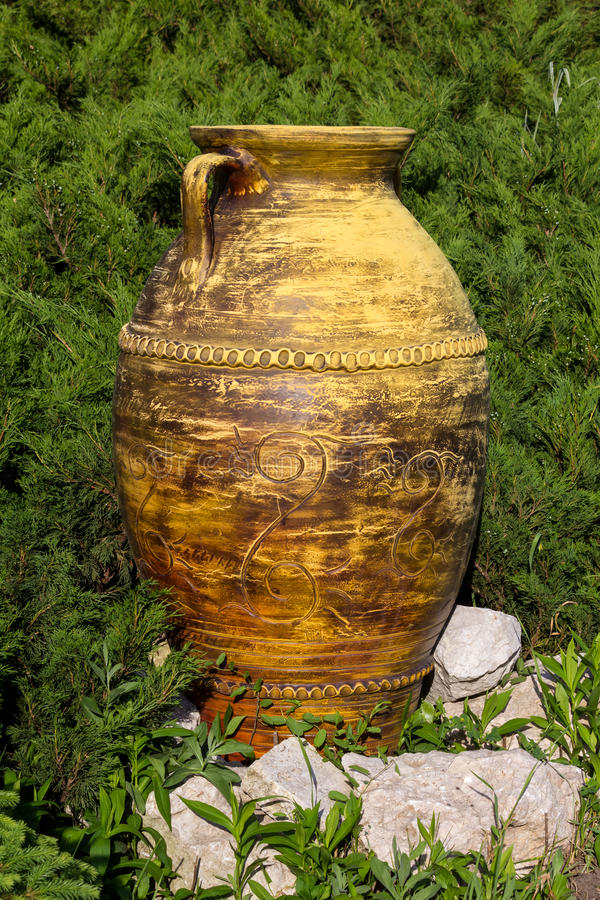 Ceramiczny słój obrazy royalty free