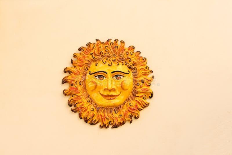 ceramiczny słońce obraz royalty free