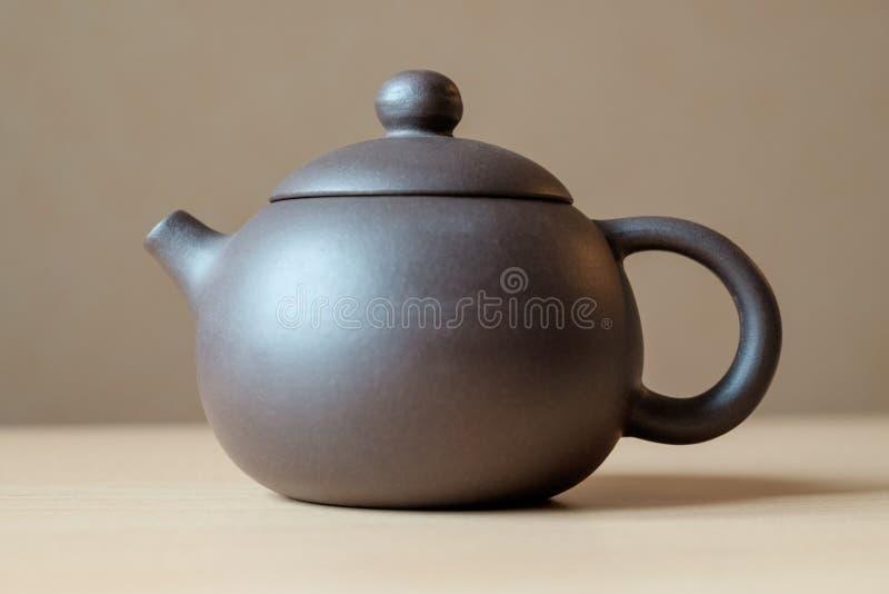 Ceramiczny teapot obrazy stock
