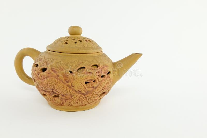Ceramiczny teapot obrazy royalty free