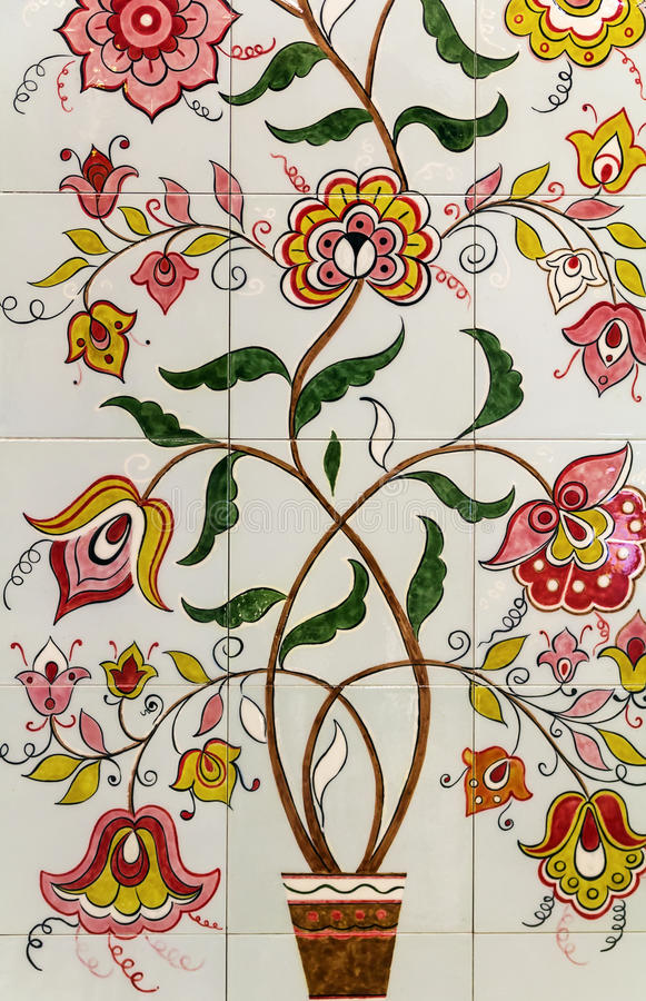 Ceramiczny Tilesm, Kazan obraz royalty free