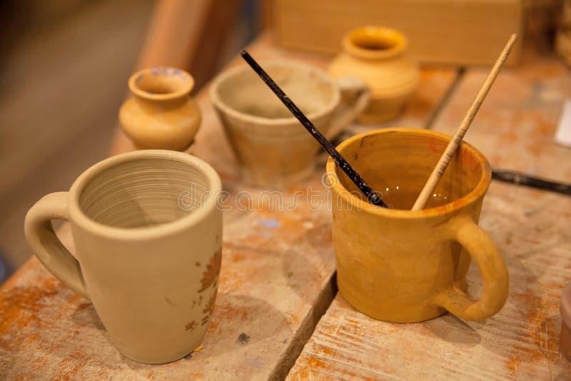 Ceramiczny warsztat zdjęcie stock