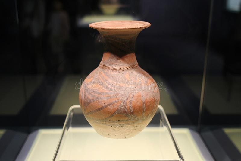 Ceramika w Szanghaj muzeum 20-15 zdjęcia royalty free