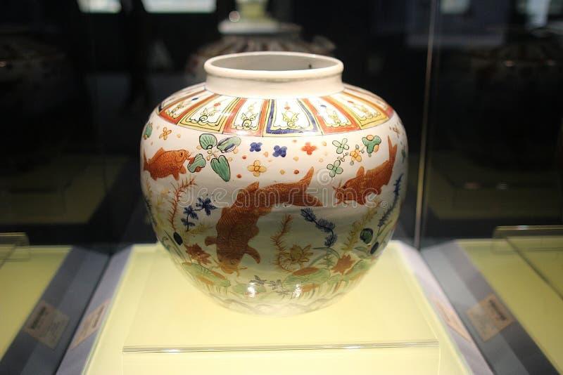 Ceramika w Szanghaj muzeum 20-11 zdjęcie royalty free