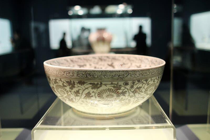 Ceramika w Szanghaj muzeum 20-12 zdjęcia stock