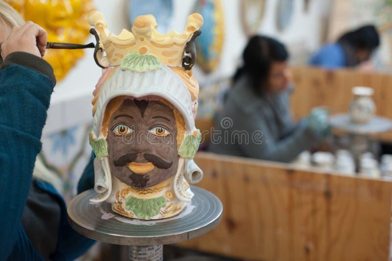 Ceramisch Art royalty-vrije stock afbeelding