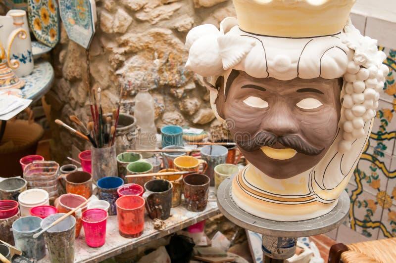 Ceramisch Art royalty-vrije stock fotografie
