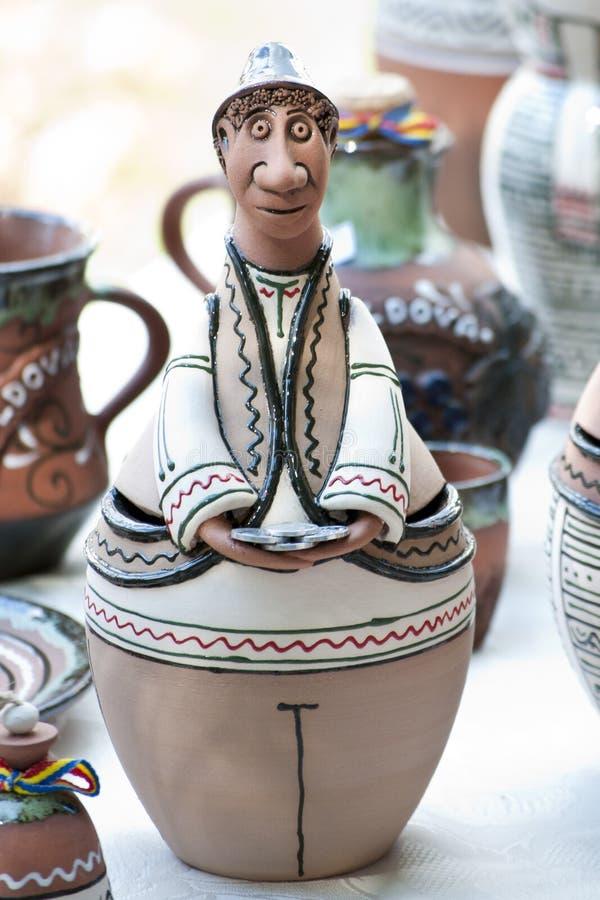 Ceramisch beeldje stock fotografie