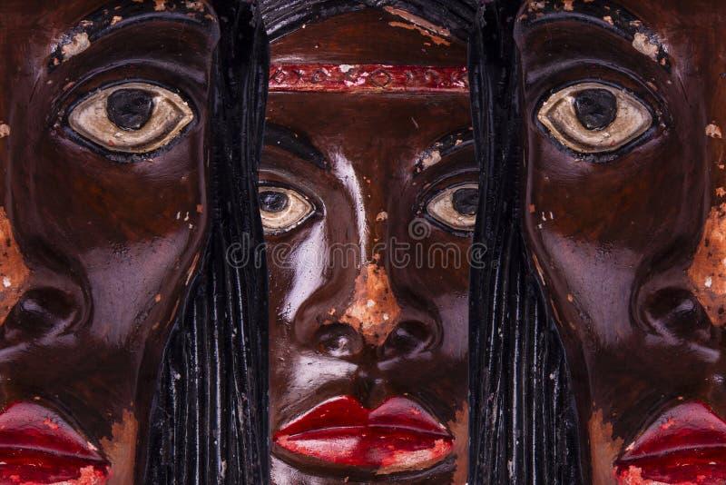 Ceramisch Indisch masker royalty-vrije stock foto