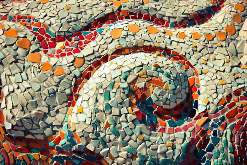Ceramisch - mozaïek stock afbeelding
