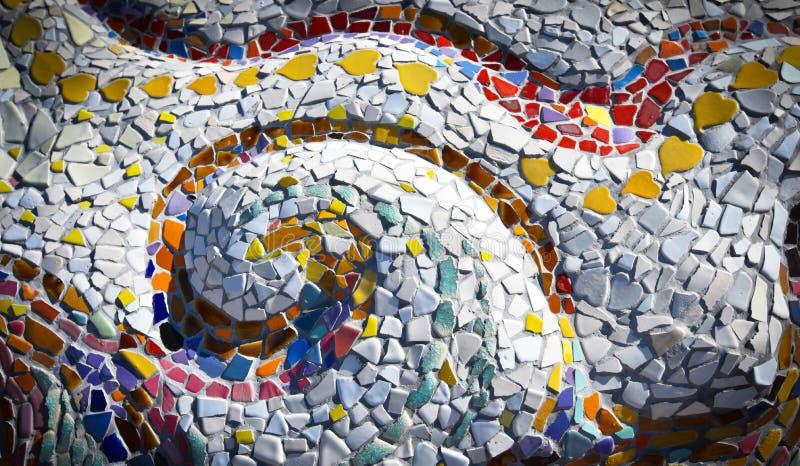 Ceramisch - mozaïek stock foto