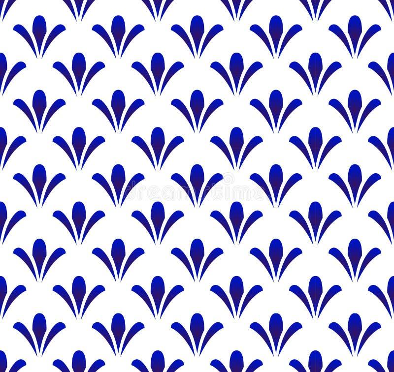 Ceramisch Patroon stock illustratie