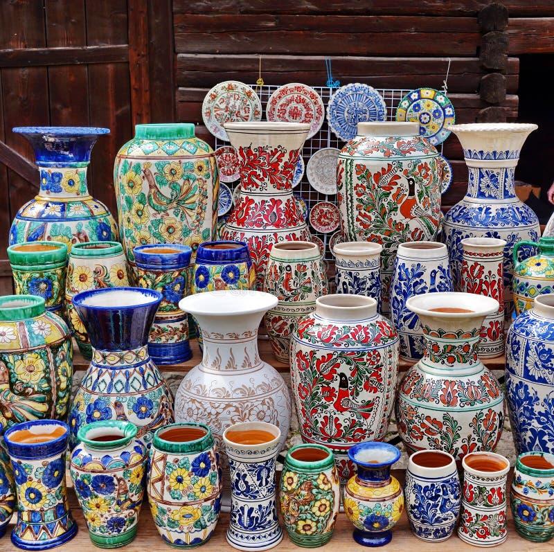 Ceramisch in Roemenië royalty-vrije stock afbeelding