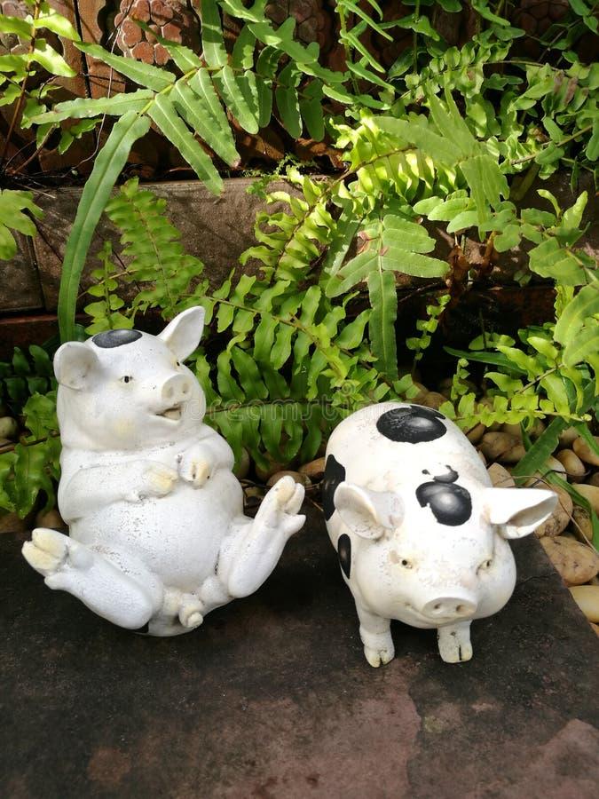 Ceramisch varken royalty-vrije stock foto's