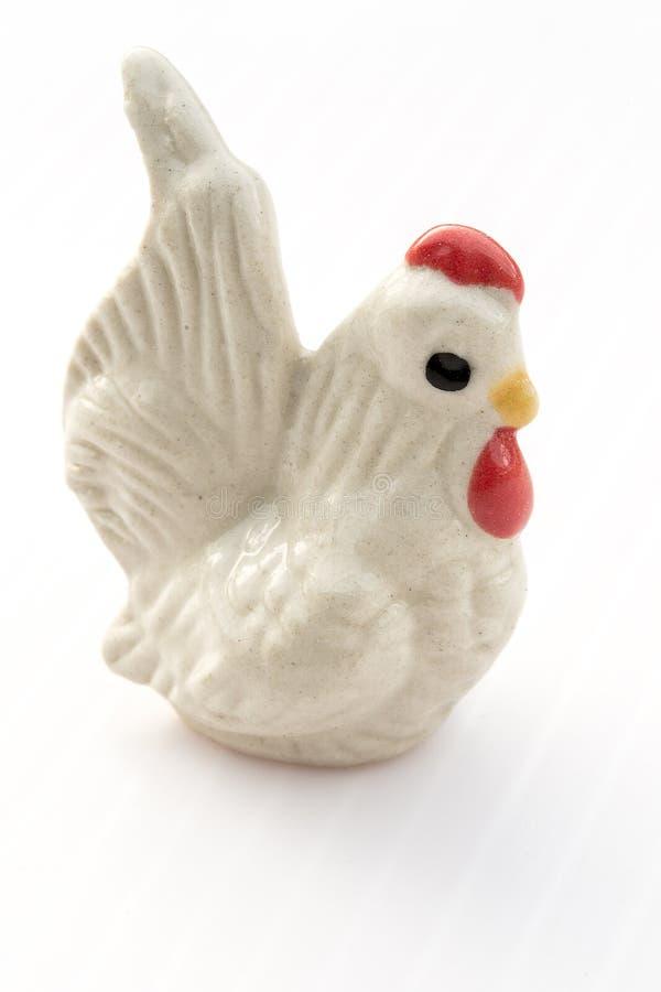 Ceramisch Vogelsmodel royalty-vrije stock afbeeldingen