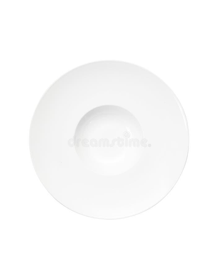 Ceramische braadpanschotel royalty-vrije stock afbeeldingen