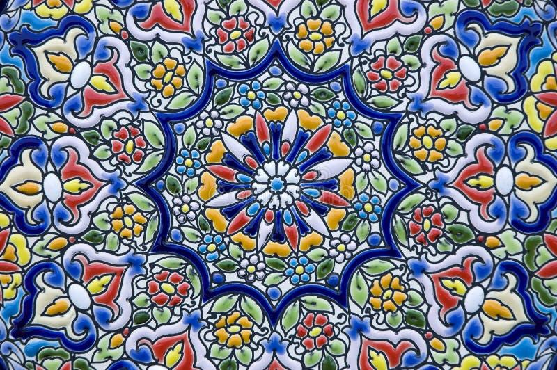 Ceramische decoratie stock foto's