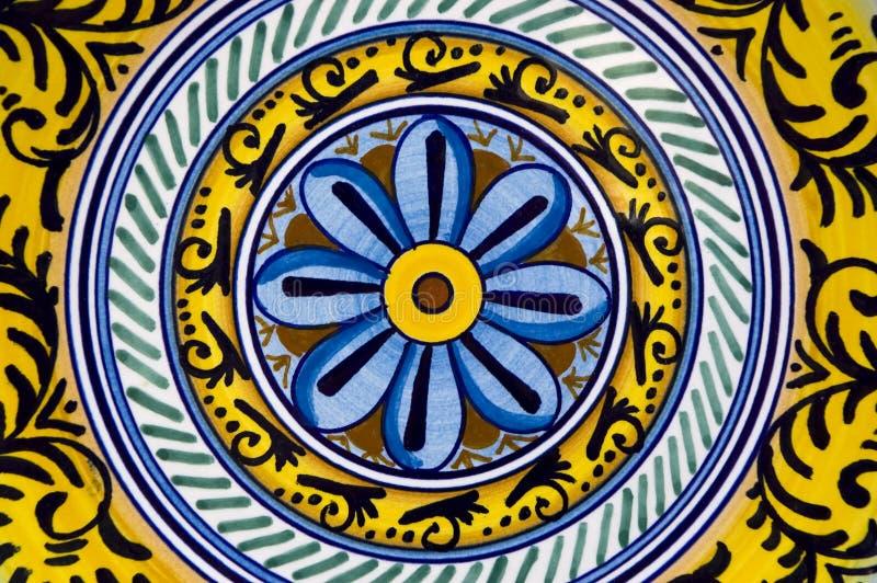 Ceramische decoratie royalty-vrije stock fotografie