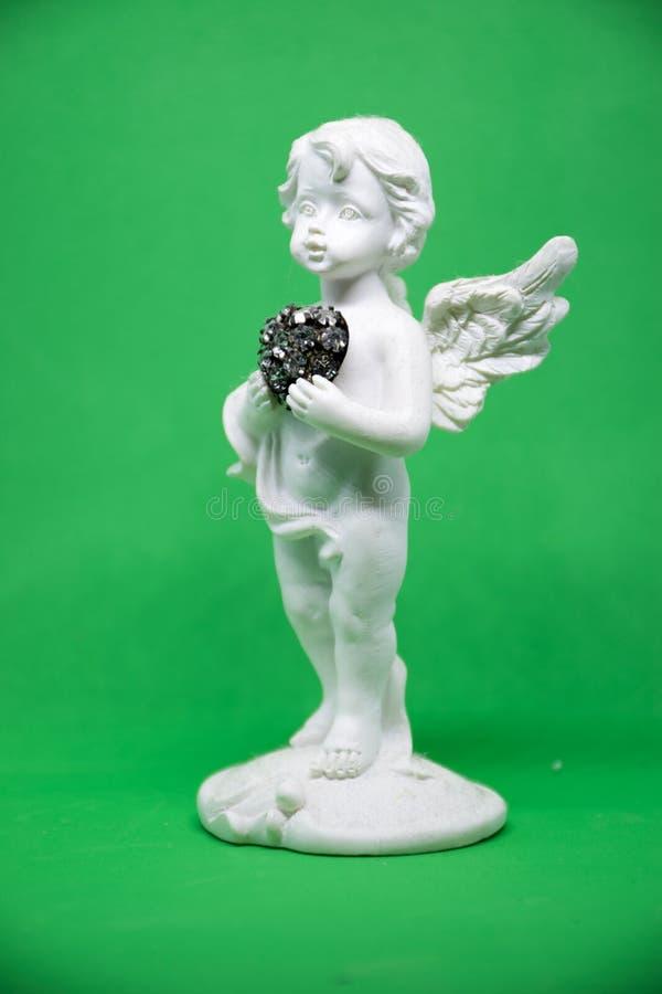 Ceramische Engel stock foto's
