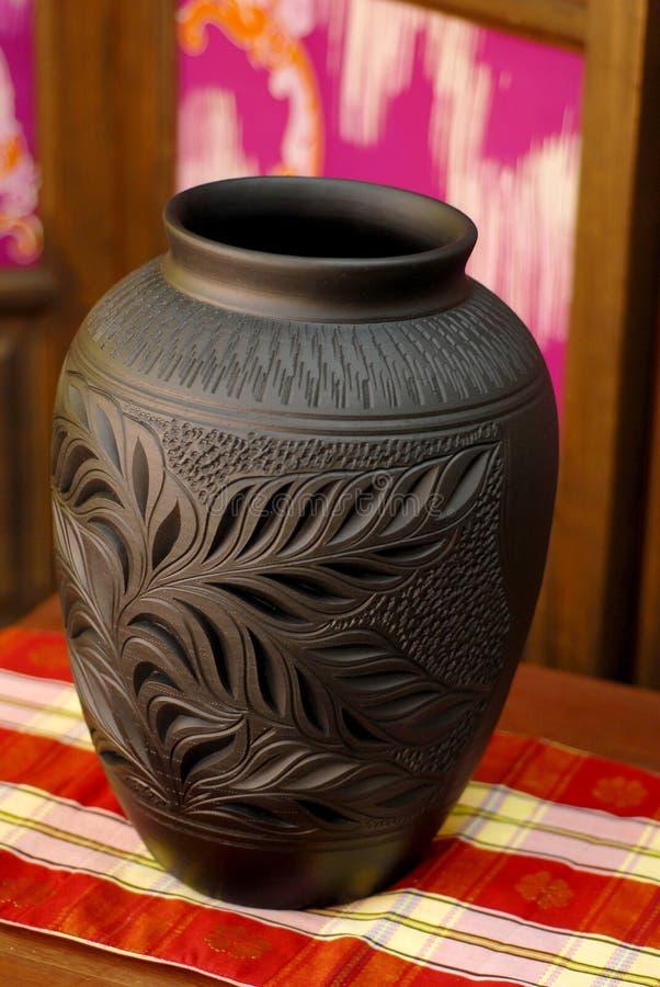 Ceramische Handcrafted royalty-vrije stock afbeelding