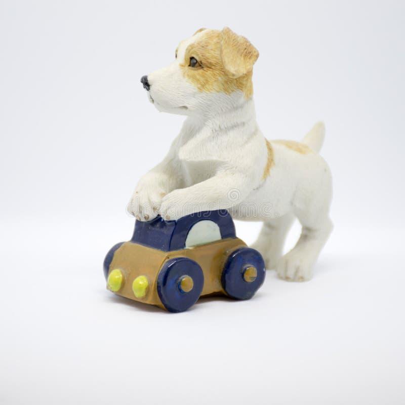 Ceramische hond stock afbeeldingen