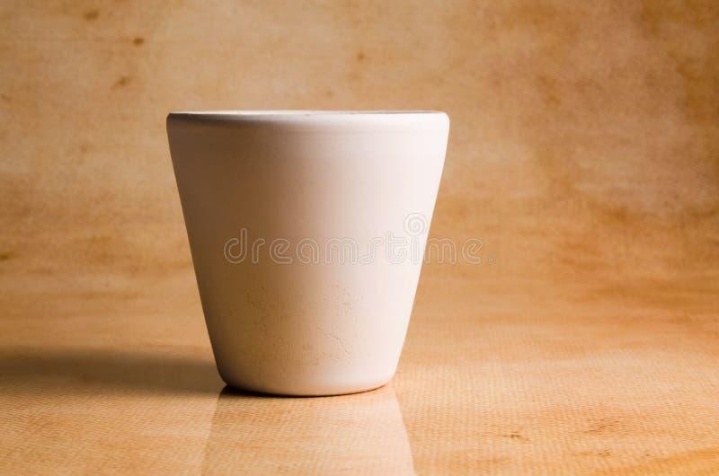 Ceramische Pot royalty-vrije stock afbeeldingen