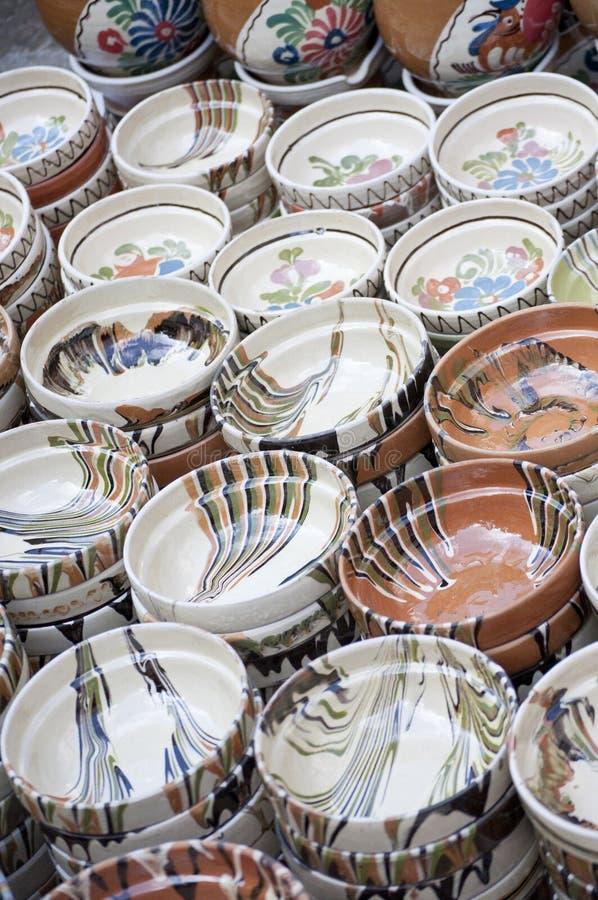Ceramische Pot royalty-vrije stock foto's