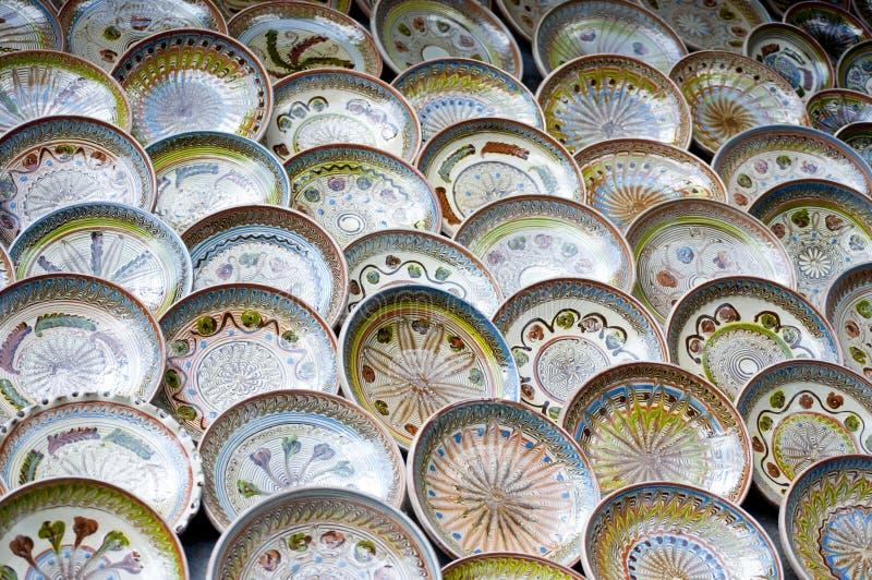 Ceramische Pot stock foto