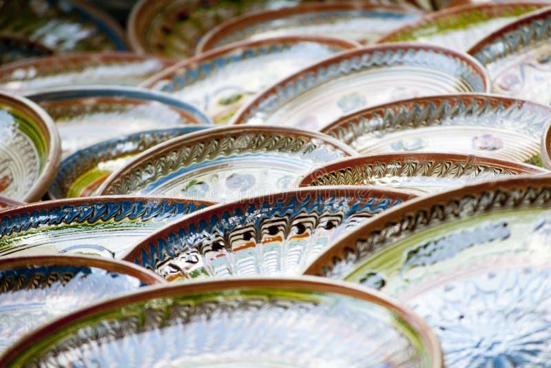 Ceramische Pot royalty-vrije stock afbeelding